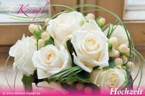 Hochzeit bei Blumen Krempl