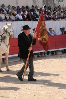 Hubert Yonnet, Président de la Confrérie des Gardians jusqu'en 2014