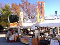 藤沢炒麺販売風景