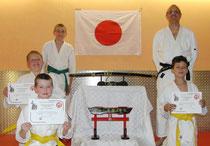 Zen-Ki-Budo - Prüfung im Jiu-Jitsi der Jiu-Jitsu Dragons