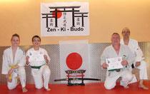 Zen-Ki-Bud - Grüngurtprüfung