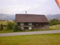 Das Haus in Hüngen Nr. 135  um 1995