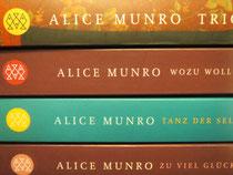 Alice-Munro-Bücher freuen sich auf Leser