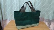 春らしい❤緑の畳へりのバッグ