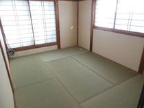 ☆床から新しく☆「上」の畳おもて&障子張り替え