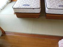 ☆ベッドのお部屋の畳替え☆
