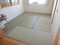 ★ビニール素材の畳へ・・・「アフター」の画像★