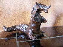 Kinderkunst Keramik Drache von Tristan