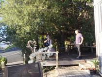 Gartenfest bei Delwyn und Pony
