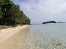 herrlicher Strand auf einer der vielen tonganischen Inseln