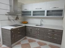 Cocina exposicion modelo Loira