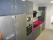 Cocina en Martos en color gris