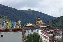 Kloster in Baiyü.