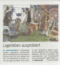 Mittelaltermarkt zu Demmingen