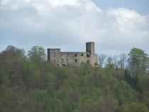 Burg Gräfenstein , das Merzalber Schloß