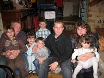 Avec mes cousins et cousines