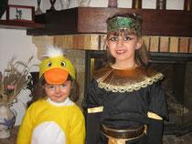 Avec ma soeur Célia