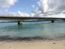 沖縄古宇利大橋です