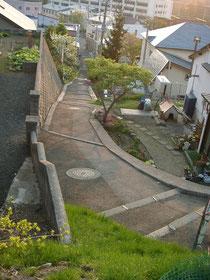 2003年の小樽の坂道