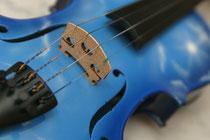 Blue Violin Beate Fischer Violonistin Geigerin