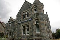 """Unser B&B """"Bankhouse"""" in Fort Augustus."""
