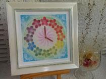 12色相環の花時計