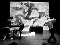 piano sketching © Emmanuelle Vial 2014
