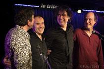 Benoit Widemann Quartet © Ptilou 2013