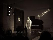Dan Tepfer - Joanna Wallfish © Emmanuelle Vial 2014