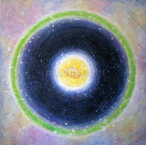 """""""The Cell"""", 80*80cm canvas, acrylics, 2009"""