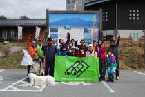 大会前の試走会や清掃登山で、トレイルランニングを通じて地域の活性化を図る