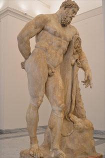 Herkules Farnese (Neapel, Arch. Museum)