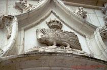 Blois, Château, Emblem Ludwigs XII.