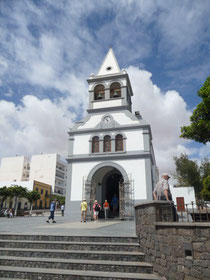 Kirche in Puerto del Rosario / Fuerteventura