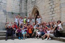 Le groupe à Rocamadour