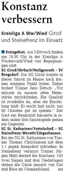 Quelle: Westerwälder Zeitung v. 17.09.2013