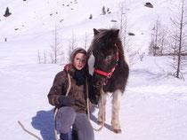 Tanja und Pony Lilly