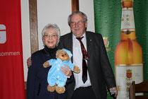 ein Dankeschön von Horst Giesen, Vorsitzender des Tenniskreises