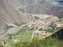 Quiquijana - Eine Luftbildaufnahme