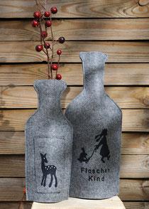Flaschenkleider Kunsthandwerk Sabine Korn