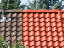 Dachbeschichtung, Antischimmelfarbe, Dichtmasse, Fassadenfarbe, Dachreinigung