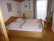 Doppelzimmer Gästehaus Fischer