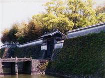 ■福江城 (石田城)・大手門