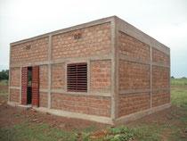 Maison des Maîtres en cours de construction