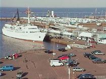 Webcam Seefahrtschule Helgolandanleger Fährhafen