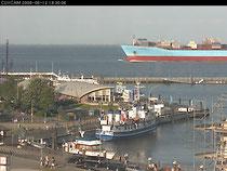 Webcam Hafen von Donner´s Hotel