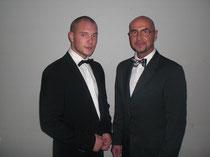 Vater & Sohn holen Gold