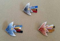 飛ぶ鳥  ブローチ