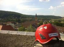 Industrieklettern in der Pfalz