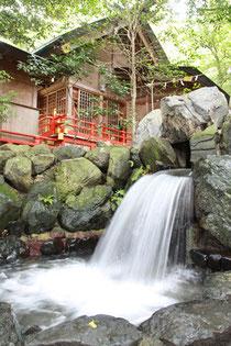 椿大神社 かなえ滝